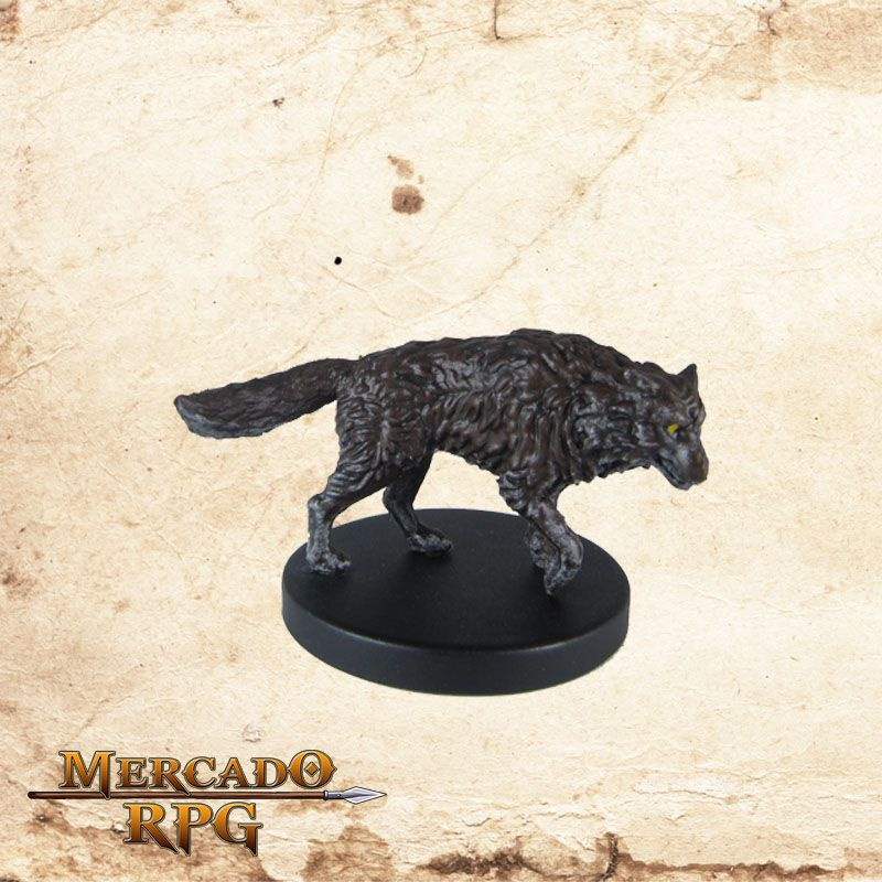 Wolf - Miniatura RPG  - Mercado RPG