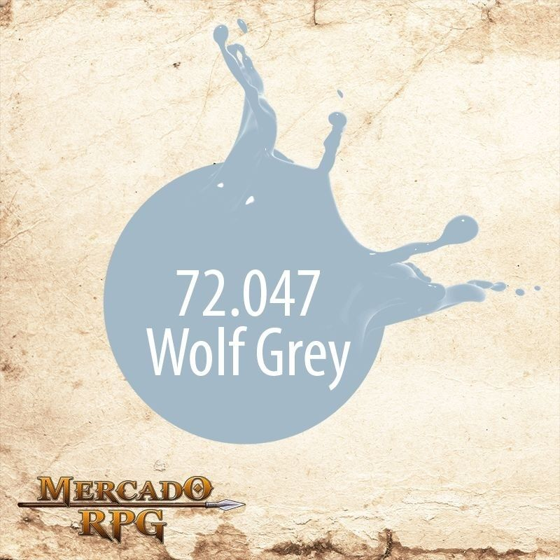 Wolf Grey 72.747  - Mercado RPG