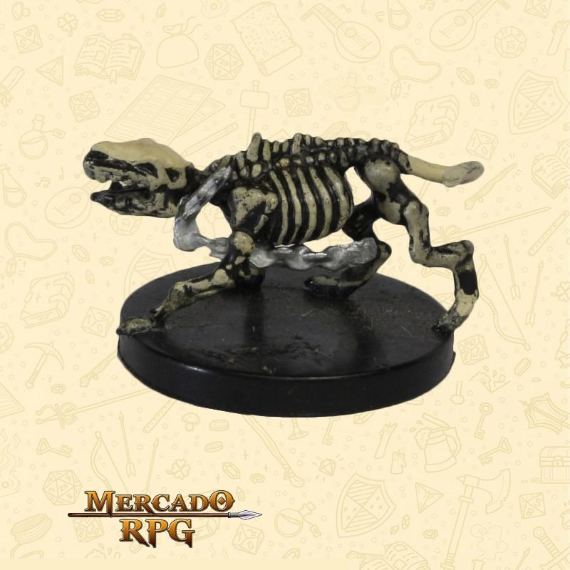 Wolf Skeleton - Miniatura D&D - RPG