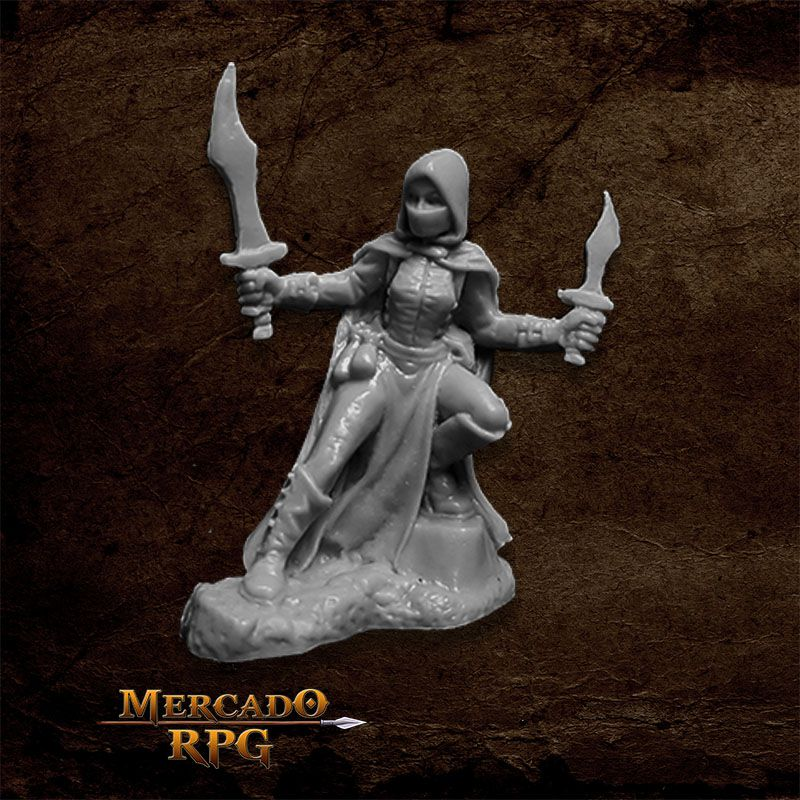 Woman of Dreadmere A - Miniatura RPG  - Mercado RPG