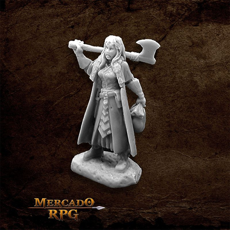 Woman of Dreadmere C - Miniatura RPG