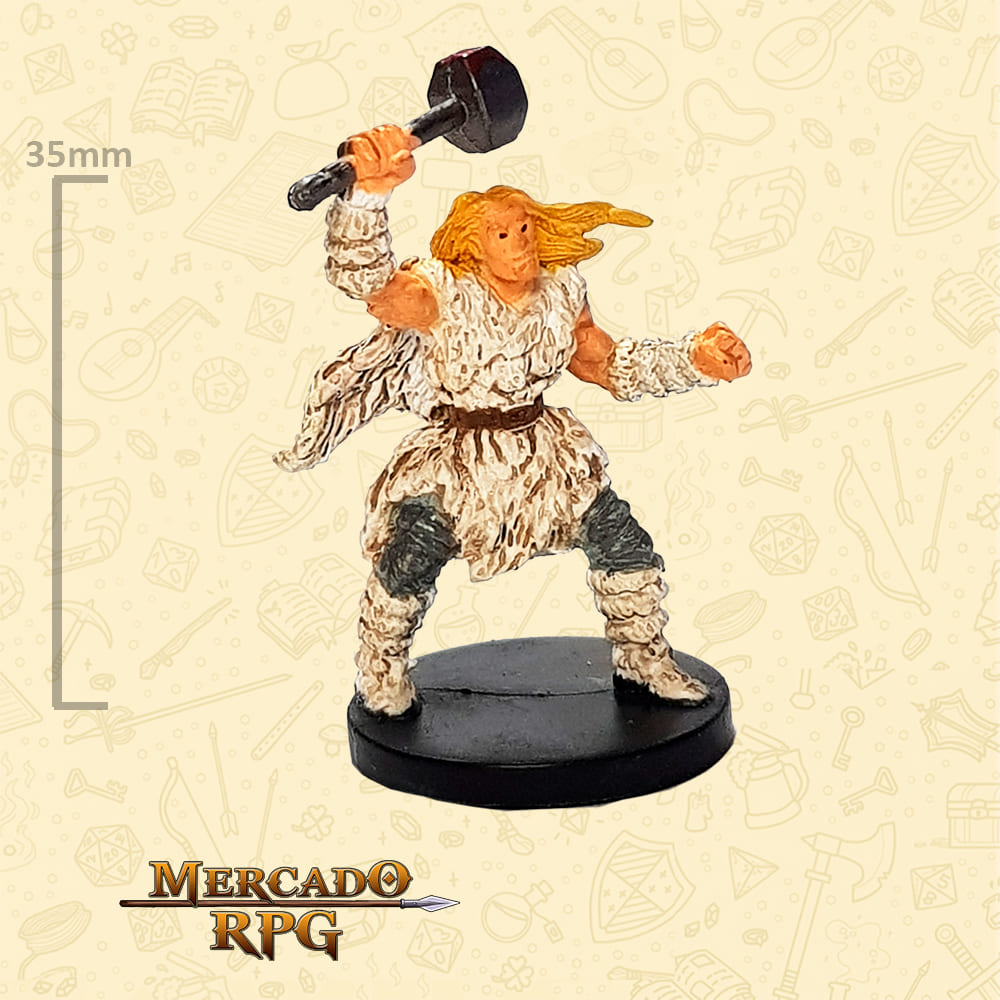 Wulgar Limited Edition - Miniatura D&D - RPG