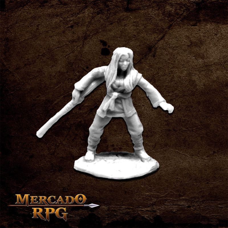 Xiao Liu, Female Monk - Miniatura RPG
