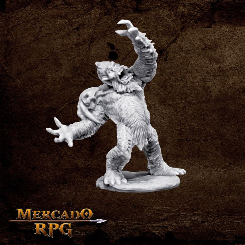 Yeti Chieftain - Miniatura RPG