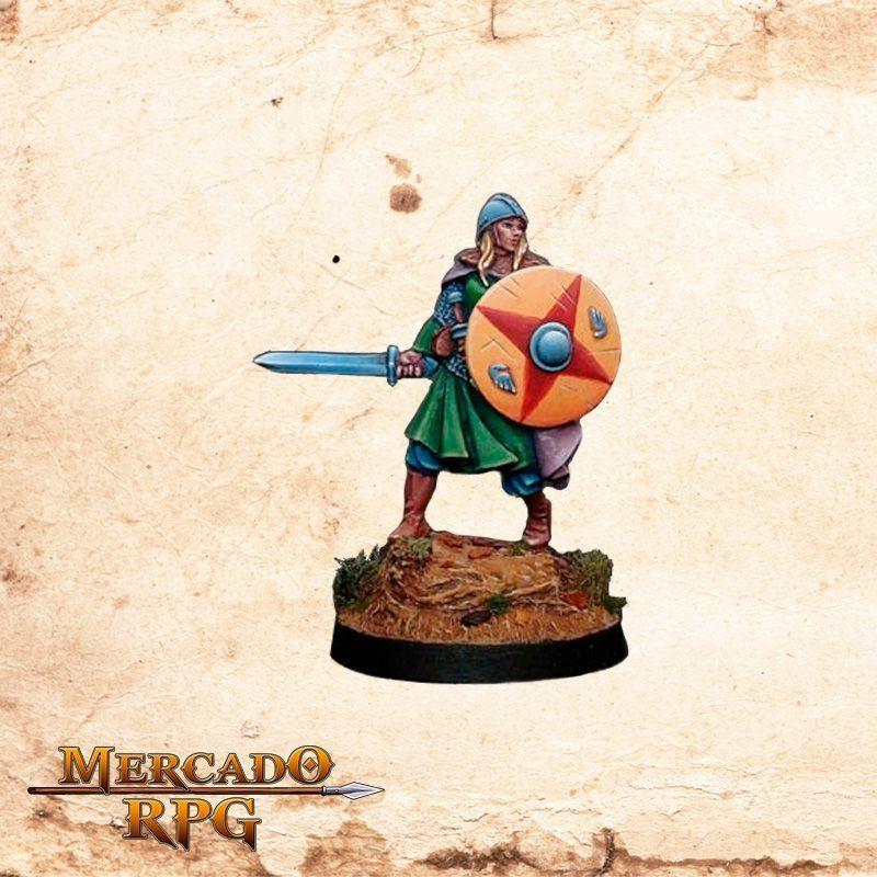 Ylvfriodr of Ulfrstadt - Miniatura RPG  - Mercado RPG