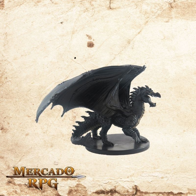 Young Adamantine Dragon - Sem carta  - Mercado RPG