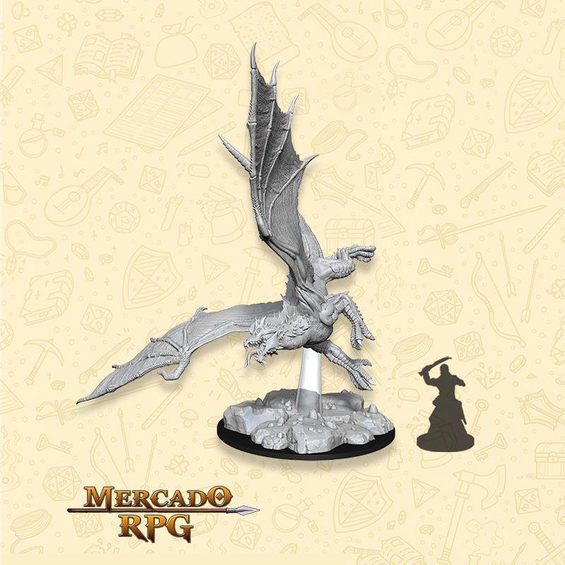 Young Green Dragon - Miniatura RPG  - Mercado RPG