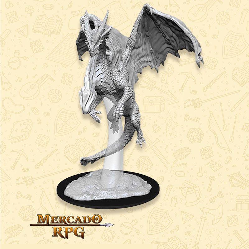 Young Red Dragon - Miniatura RPG  - Mercado RPG