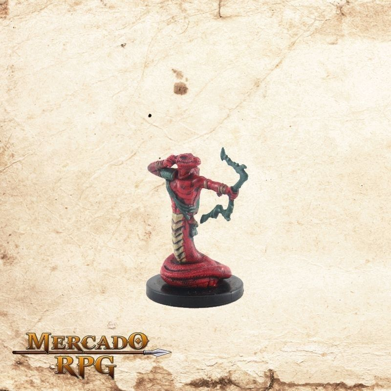 Yuan-ti Malison - Com carta  - Mercado RPG