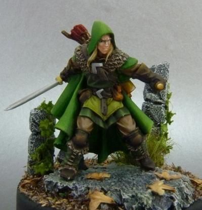 Yvander HalfBlood, MarchWarden Scout  - Mercado RPG