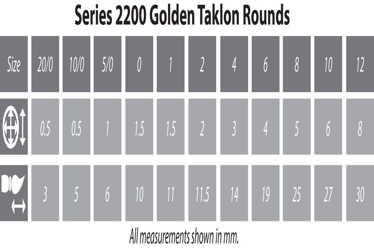 Zem Brush 2200 Golden Taklon Synthetic Round 1 - RPG  - Mercado RPG