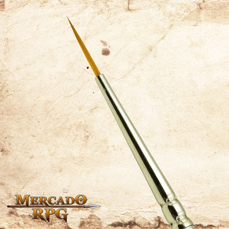 Zem Brush 2600 Golden Taklon Synthetic Long 2 - RPG  - Mercado RPG