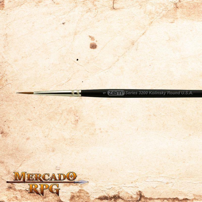 Zem Brush 3200 Kolinsky Pure Sable 1  - Mercado RPG