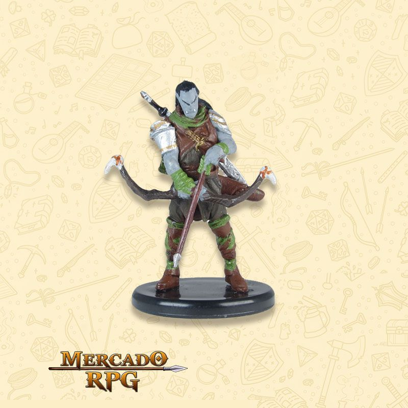 Ziraj the Hunter - Miniatura RPG