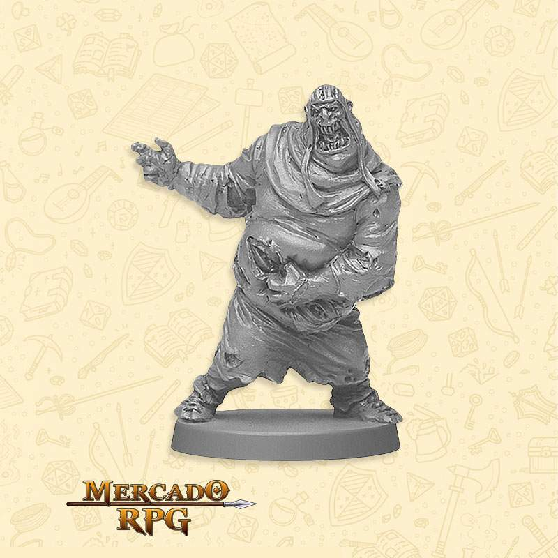 Zombie Fatty B - Miniatura RPG  - Mercado RPG