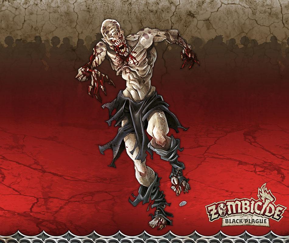 Zombie Runner A - Miniatura RPG  - Mercado RPG
