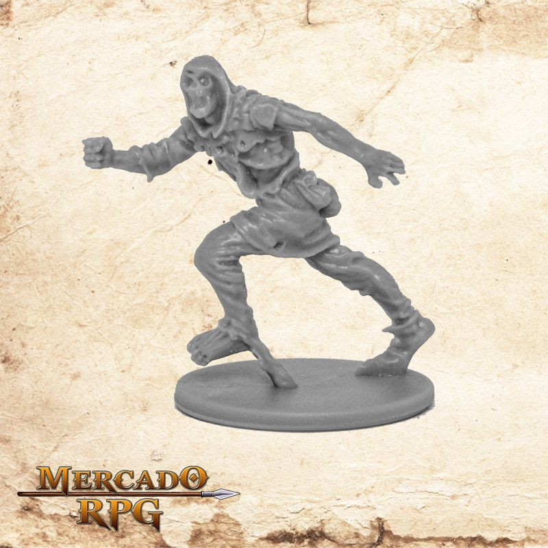 Zombie Runner B - Miniatura RPG  - Mercado RPG