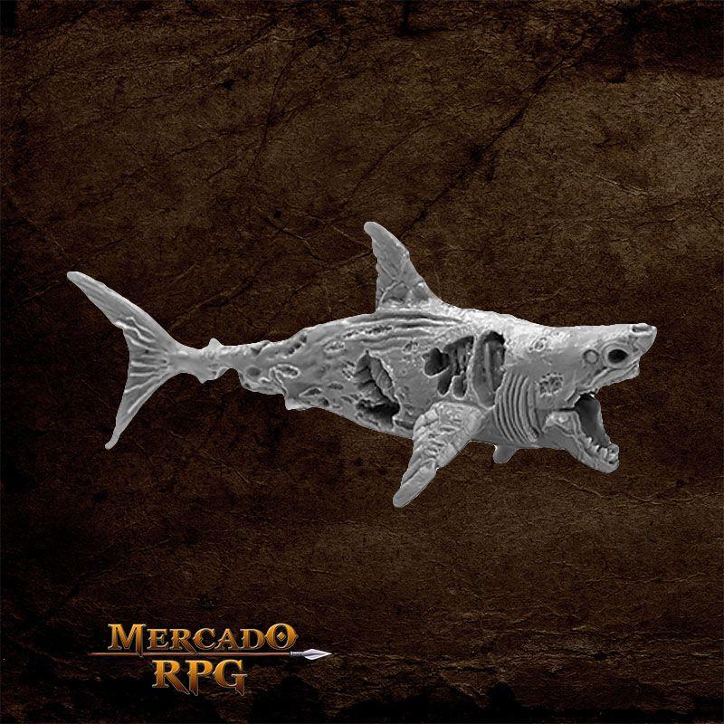 Zombie Shark - Miniatura RPG Reaper Bones