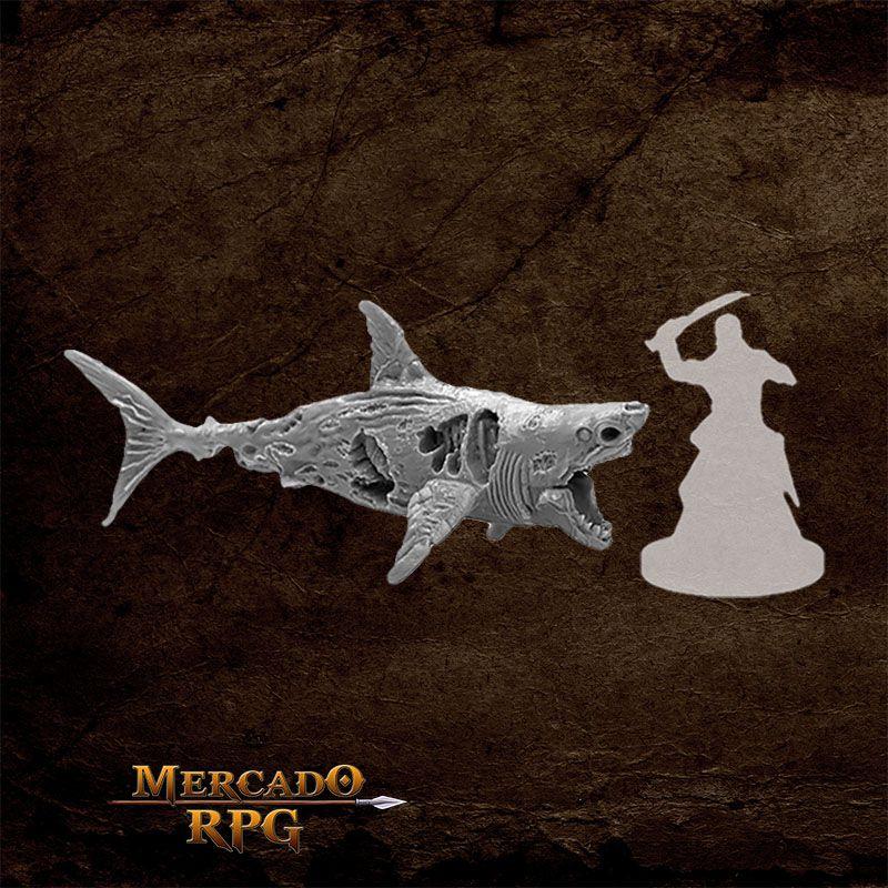 Zombie Shark - Miniatura RPG  - Mercado RPG