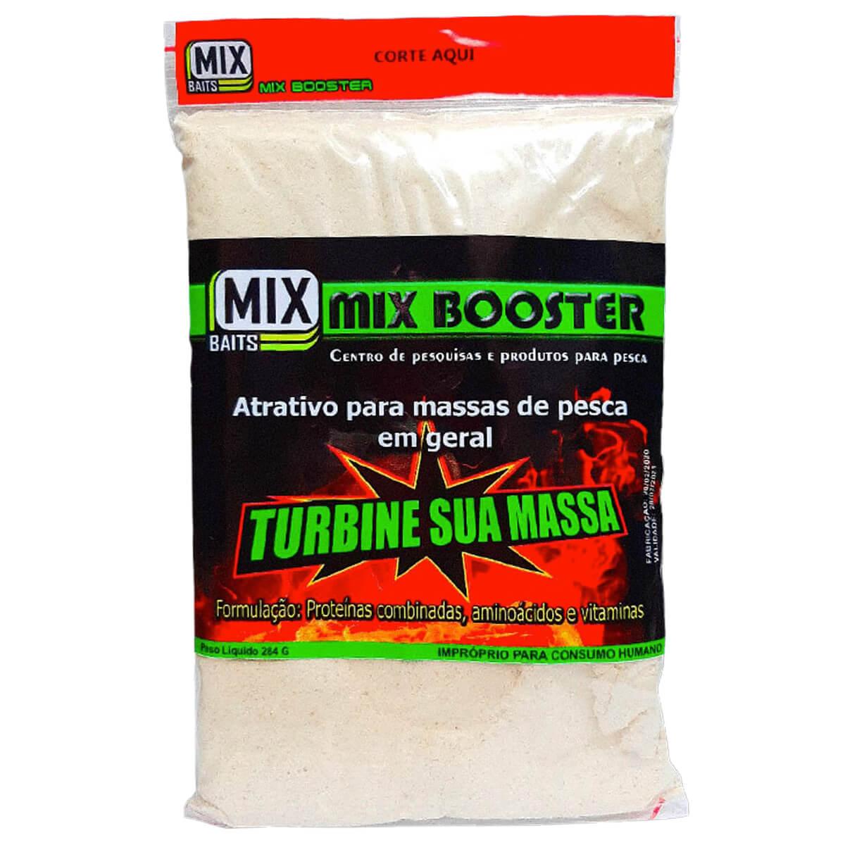 ATRATIVO MIX BAITS MIX BOOSTER PARA MASSAS EM GERAL - 284G