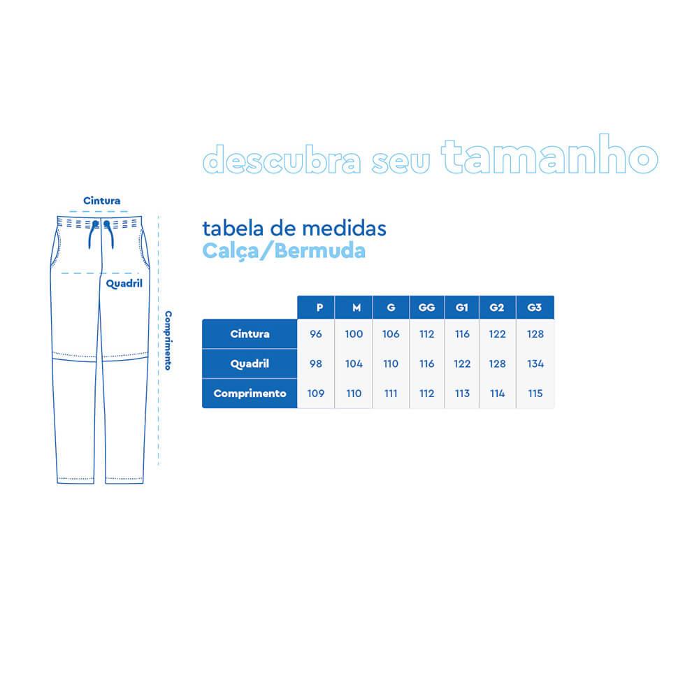 CALÇA BERMUDA MAR NEGRO COMBATE LISA VERDE - 49305