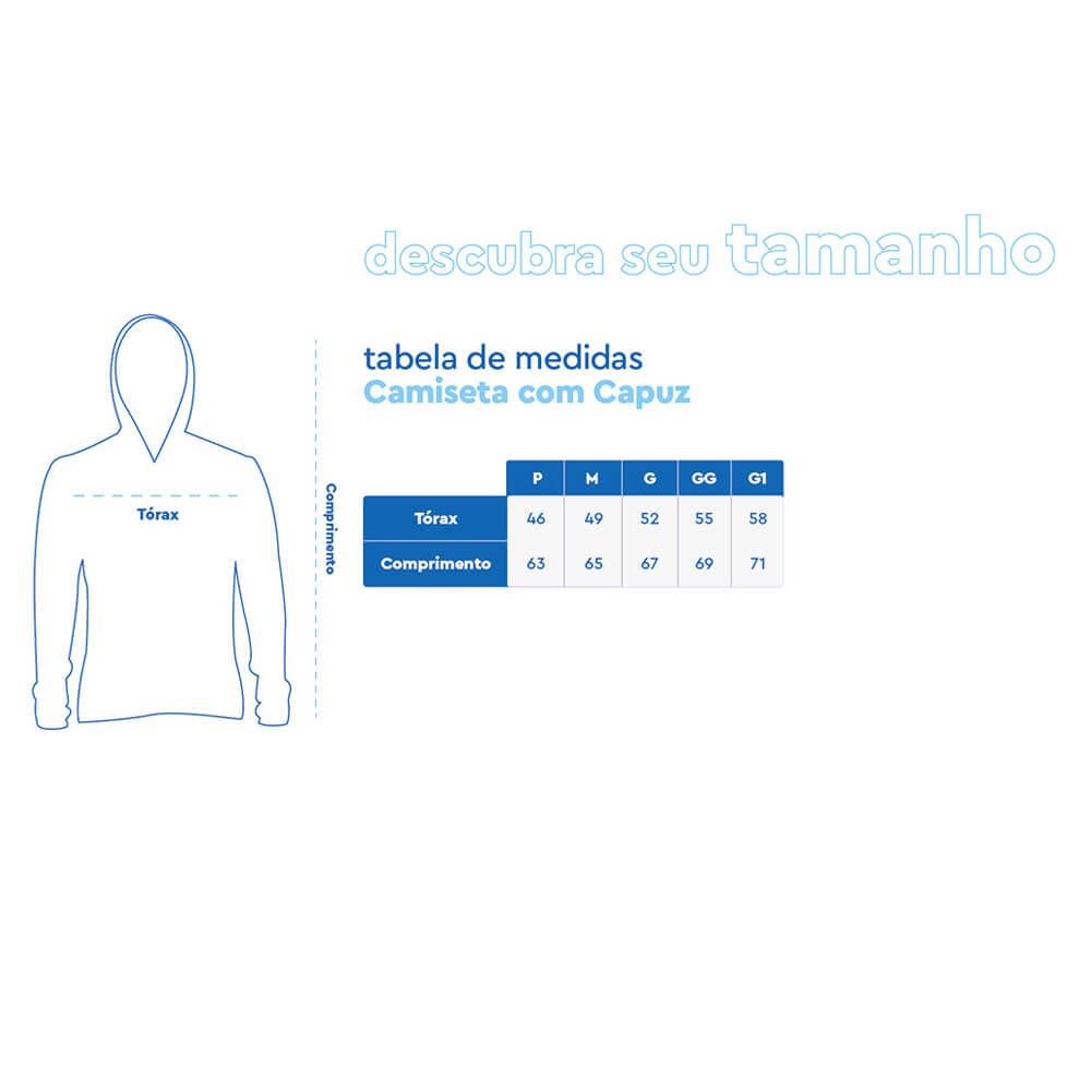 CAMISA FEMININA MAR NEGRO PRETA 2020 - 49315 C/ CAPUZ