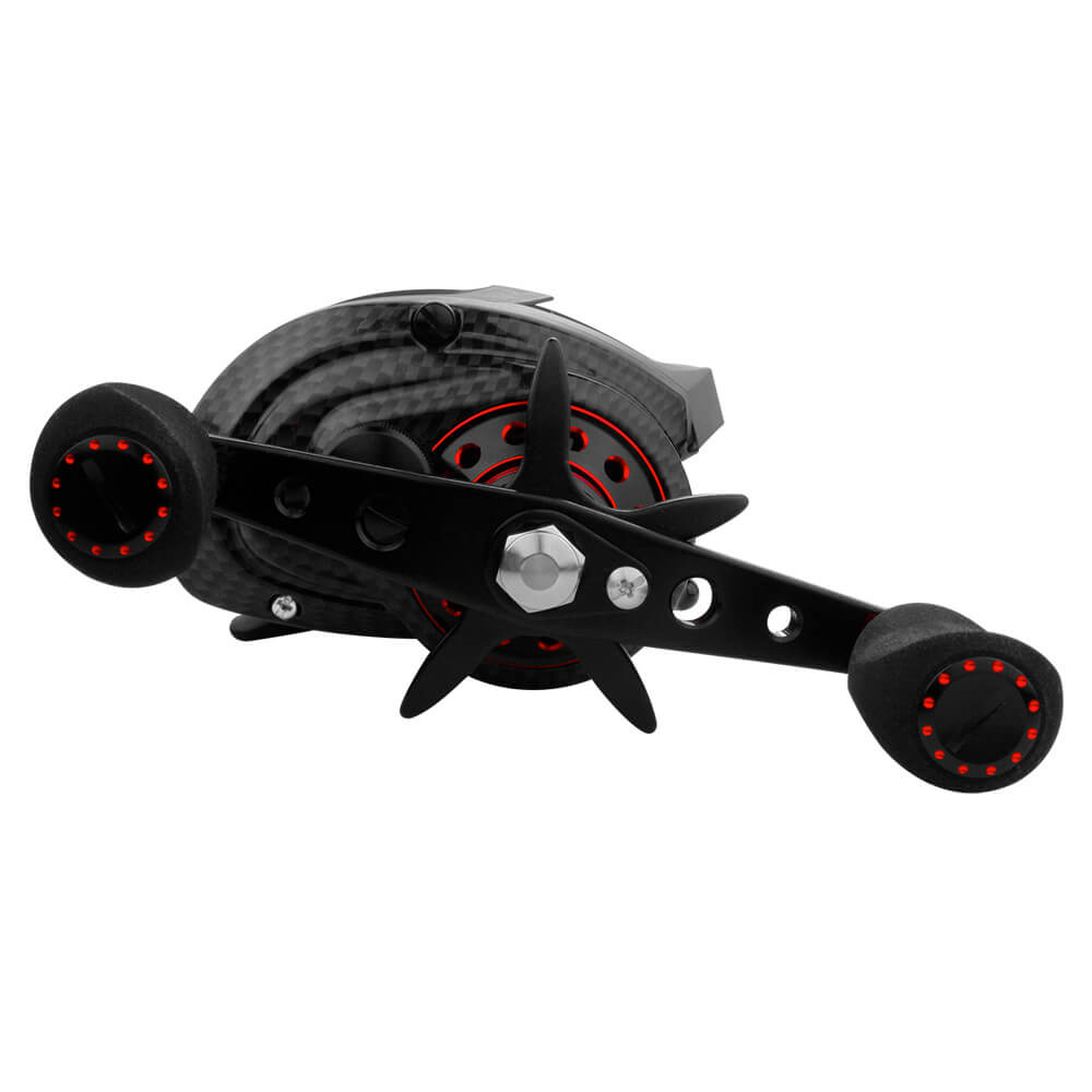 CARRETILHA ALBATROZ FISHING BLACK SNAKE RED 7.1