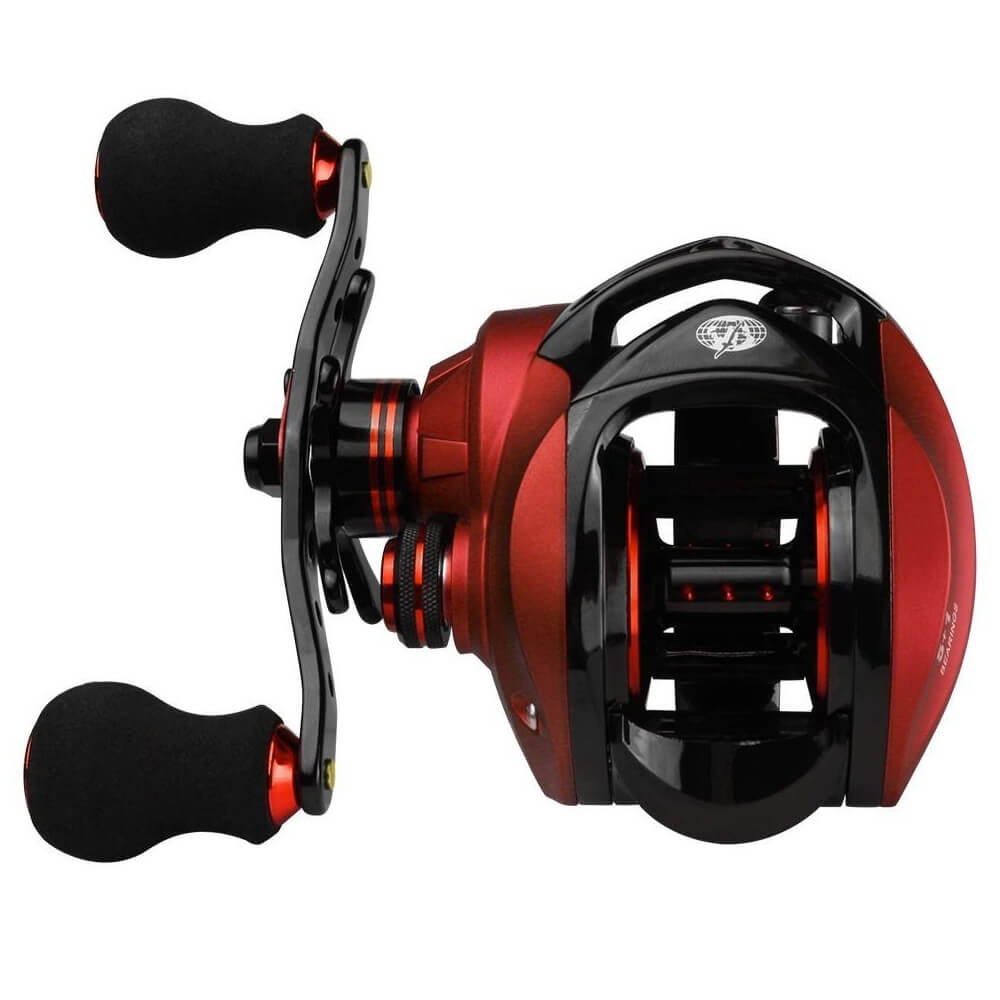 CARRETILHA ALBATROZ FISHING CORAL RED 7.0