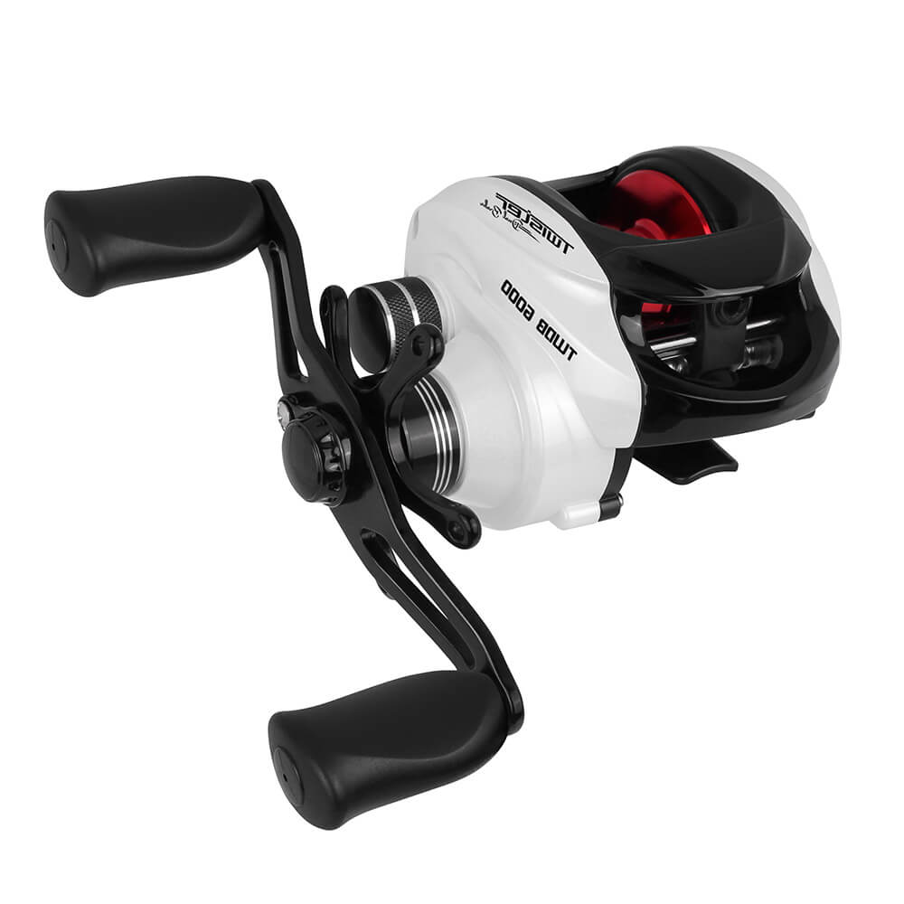 CARRETILHA SAINT PLUS TWISTER DUAL BRAKE 6000 H - MANIVELA DIREITA