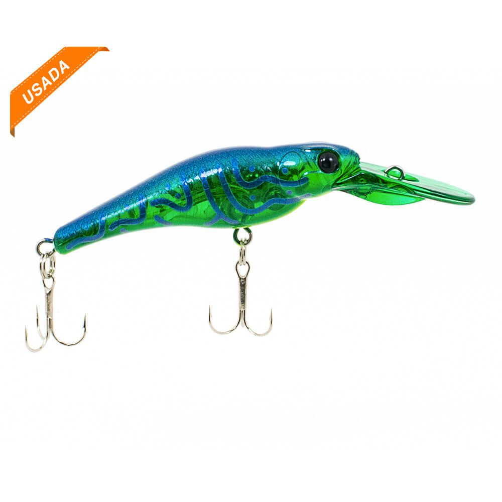 ISCA ARTIFICIAL EVERGREEN SPIN-MOVE SHAD 5,5CM 5G - USADA - F022