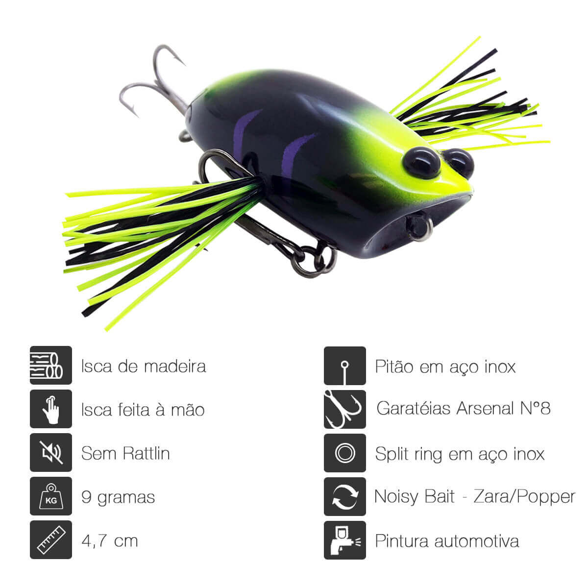 ISCA OCL LURES DRAGONFLY 47 - 4,7CM 9G