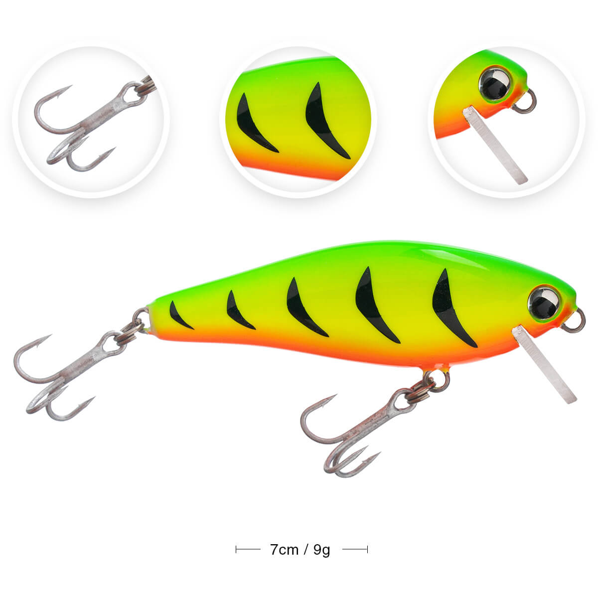 ISCA OCL LURES LETAL SHAD 70 - 7CM 9G