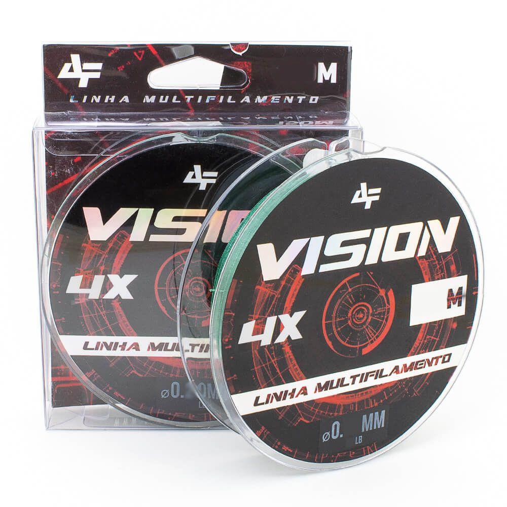 LINHA MULTIFILAMENTO ALBATROZ FISHING VISION X4 150M - VERDE