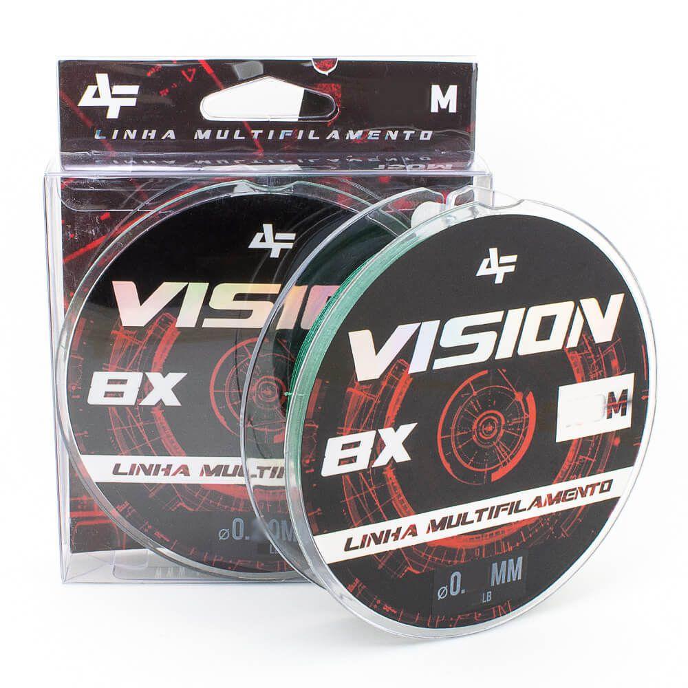 LINHA MULTIFILAMENTO ALBATROZ FISHING VISION X8 150M - VERDE