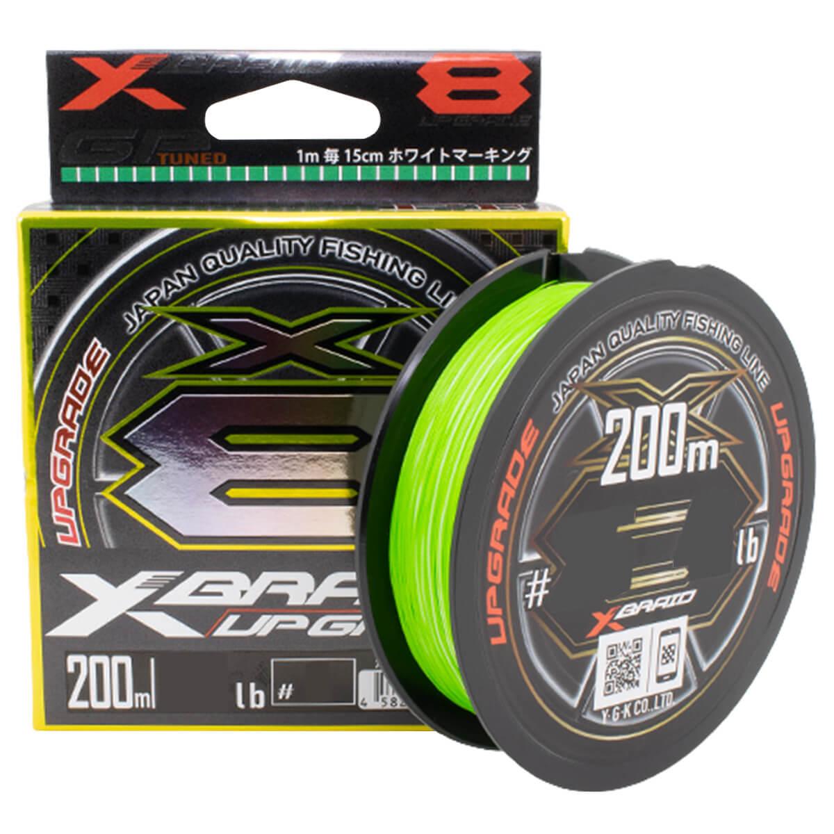 LINHA MULTIFILAMENTO YGK X-BRAID UPGRADE X8 - 200M