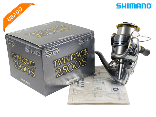 MOLINETE SHIMANO TWIN POWER 2500S - USADO - C105