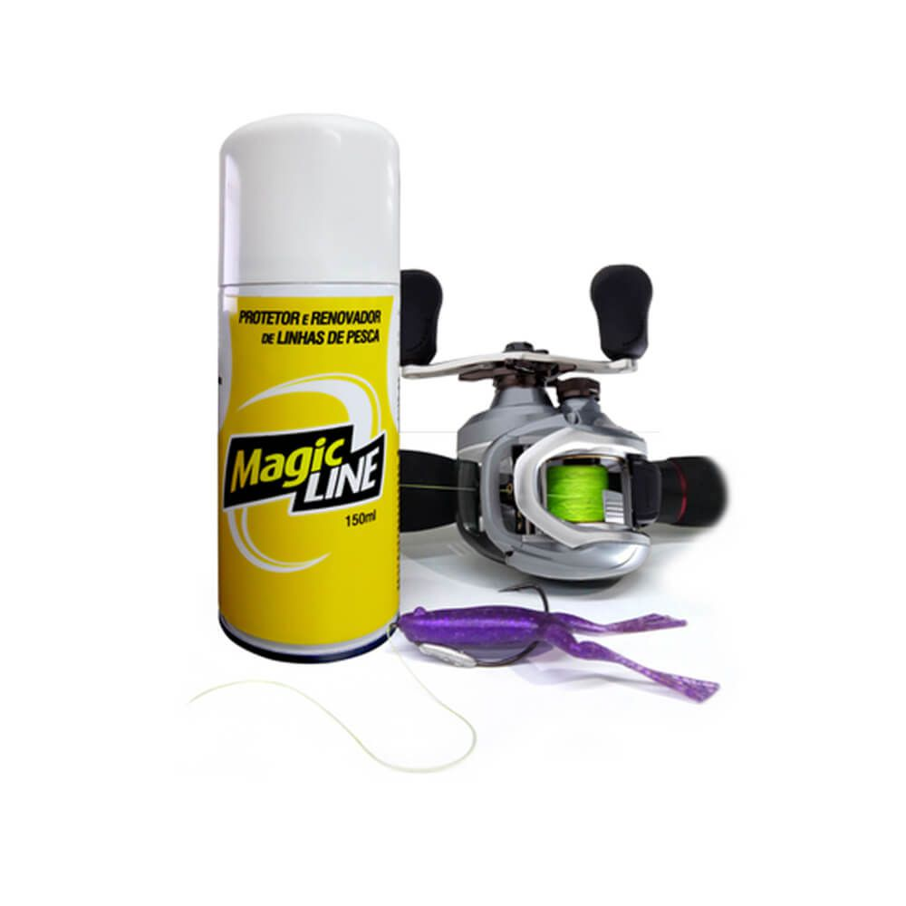 SPRAY MONSTER 3X MAGIC LINE RENOVADOR DE LINHA DE PESCA