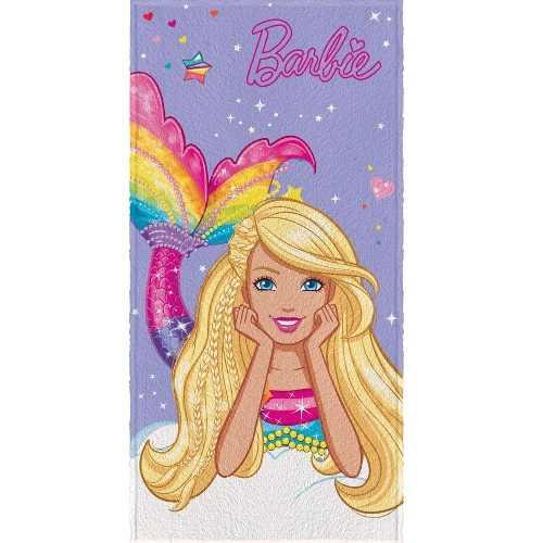 Toalha De Banho Infantil Felpuda Barbie R. Mágicos Lepper #2