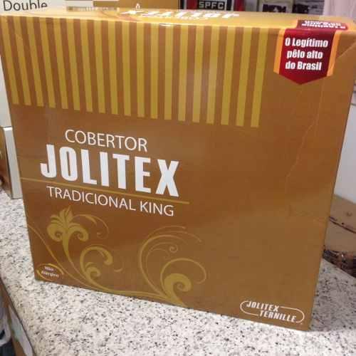 Cobertor Jolitex Casal King Tradicional Pêlo Alto Lucerna