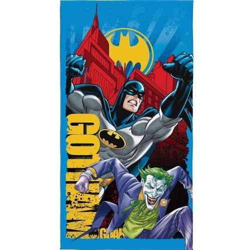 Toalha De Banho Infantil Aveludada Batman Lepper