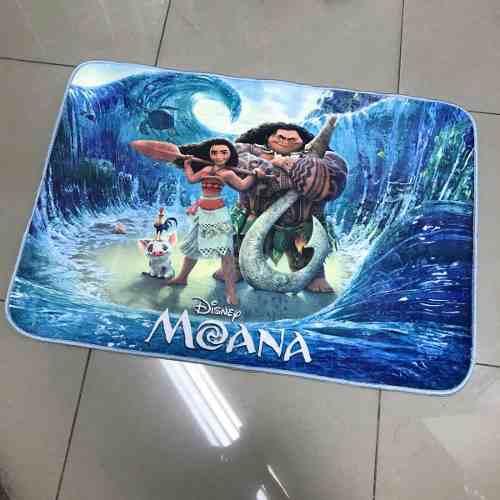 Tapete Infantil Jolitex Moana Disney 0,70x1,00m Sublimado