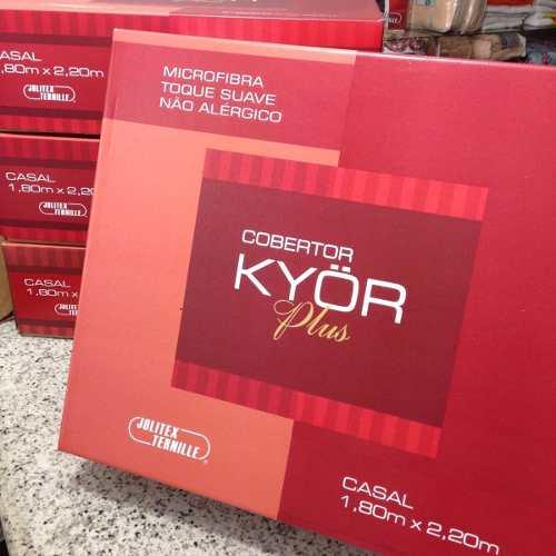 Cobertor Jolitex Casal Kyor Plus 1,80x2,20m Toulon