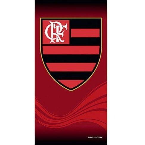 Toalha De Banho E Praia Time Aveludada Flamengo Oficial #1