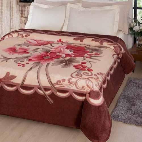 Cobertor Jolitex Casal Kyor Plus 1,80x2,20m Fiore