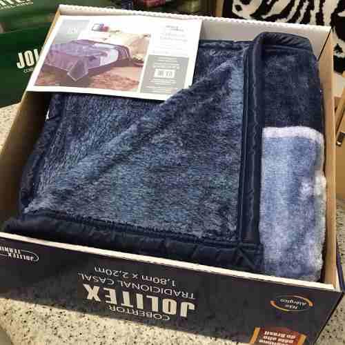 Cobertor Jolitex Casal Tradicional Pêlo Alto Tramore