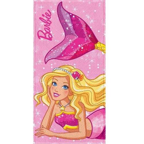 Toalha De Banho Infantil Felpuda Barbie R. Mágicos Lepper #5