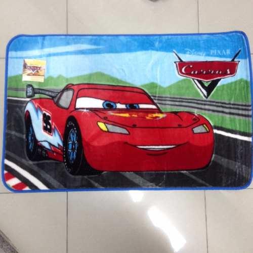 Tapete Infantil Jolitex Carros Radical Disney 0,70m X 1,10m