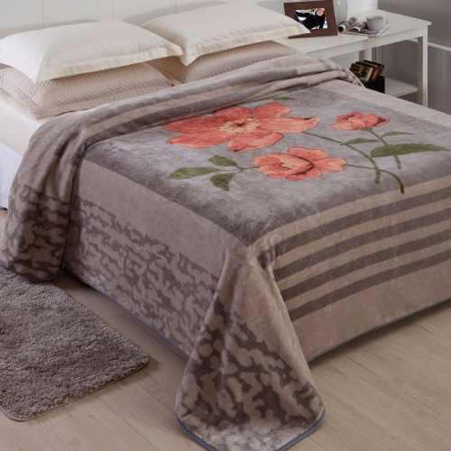 Cobertor Jolitex Casal King Raschel Toque Macio Paris