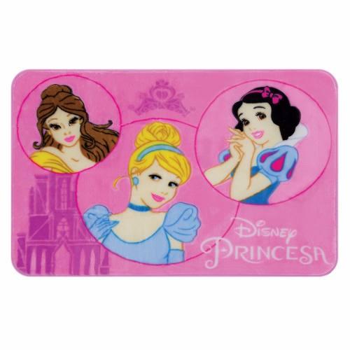 Tapete Infantil Jolitex Princesas Disney 0,70m X 1,10m