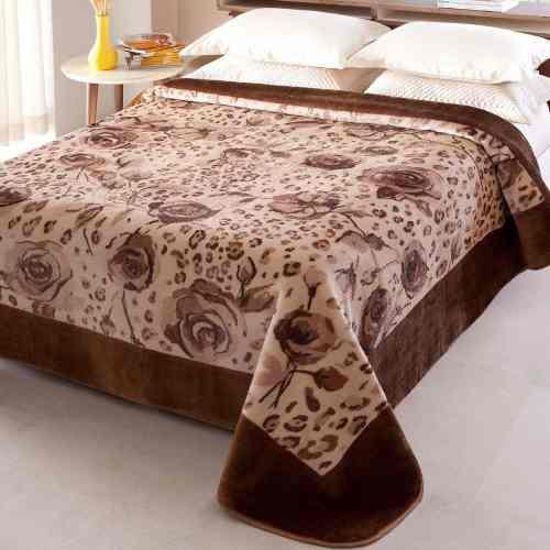 Cobertor Jolitex Casal Raschel Toque Macio Java